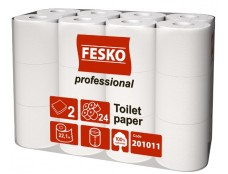 """2062 Папір Туал. """"FESKO Professional"""" (17м) S24рул  /4"""