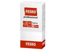 """542 Серветка FESKO Professional""""Біла 33*33 (250л) 2-шар./4"""