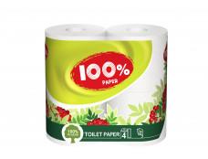 """Туал. бумага """"100% Paper"""" / 16"""