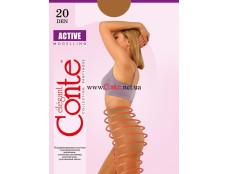 Колготки жін. ACTIVE 20, р.4, Natural