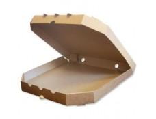 Картонная коробка для пицци*30 Коричнева /100