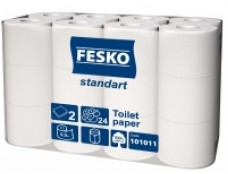 745070 Папір Туалетний FESKO Standart S 9,9м  /24 рул