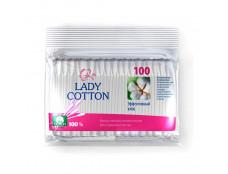 7351 Lady Cotton Ватні палички 100шт/поліет.12/50