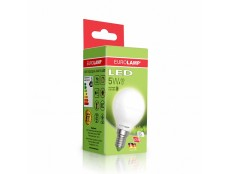 "704 EUROLAMP LED Лам ЕКО серія ""D"" G45 5 W E14 3000K"
