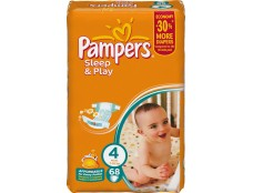 03551PAMPERS S&P  №4\68 Maxi Джамбо (7 - 18 кг)