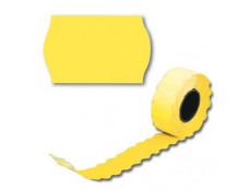 Цінник А12 жовтий 6шт/уп